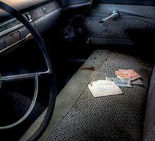 Battery Warranty -- 1959 Ford Fairlane Interior by njordphoto