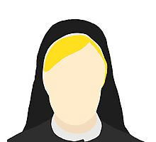 Jessica Lange as Sister Jude Martin from American Horror Story Season 2 Photographic Print
