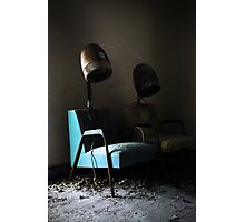 salon chairs Photographic Print