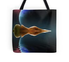 Ripples in Time and Space Tote Bag
