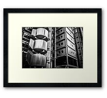 Modern Architecture in Old London Framed Print