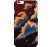 Celestial Sunset Clouds Acrylic Painting iPhone Case/Skin