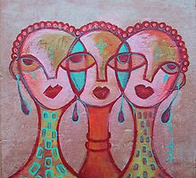 Pincurl Girls by Makeba Kedem-DuBose