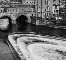Bath's Pulteney Bridge and River Avon by Nicole Petegorsky