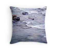 Let It Flow Throw Pillow