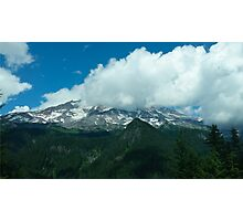 Mount Rainier Photographic Print