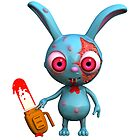 Chainsaw Bunny by johnnyz