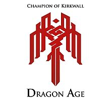 Champion of Kirkwall Dragon Age 2 Photographic Print