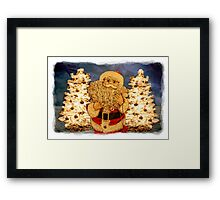 That Jolly Old Elf Framed Print