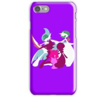 Ralts Kirlia Gardevoir Gallade Evolution iPhone Case/Skin