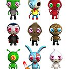 Lil Ghouls by johnnyz