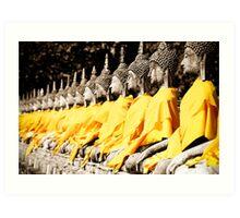 Buddhist Purity Art Print