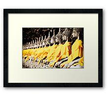 Buddhist Purity Framed Print