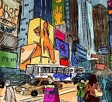 Free Hugs (NYC needs Love) by mikebone