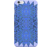 Framing the Blues iPhone Case/Skin