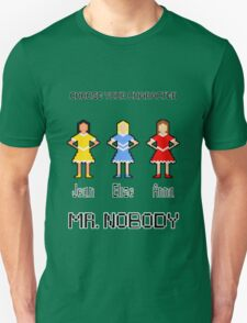 Choose Your Character! Unisex T-Shirt