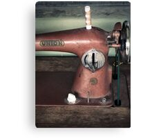 Sewing Machine Canvas Print