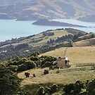 Banks Peninsula, N.Z. by Mike Warman