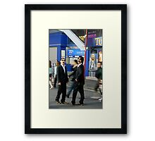 Shinjuku boys Framed Print