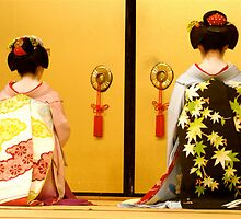 meiko & geisha by melmac