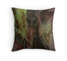 Into the Inferno Throw Pillow