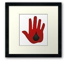 Blood Mage Dragon Age Framed Print