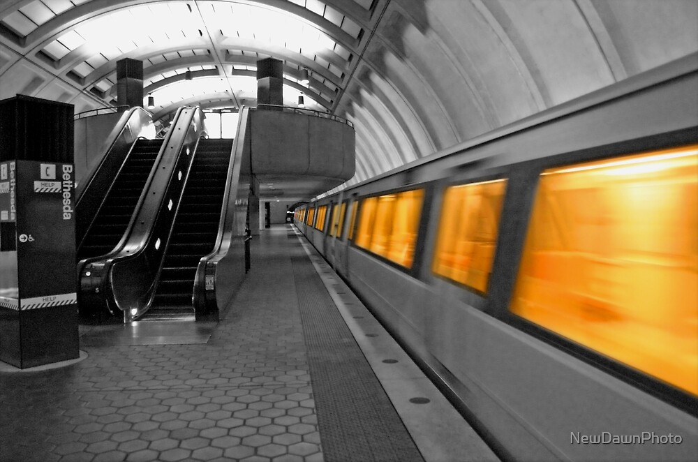 Bethesda Station by NewDawnPhoto