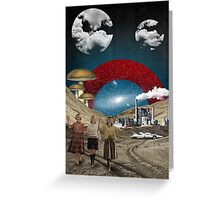 Modern Vintage Collection -- Uncertain Future Greeting Card
