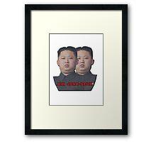 Kim Jong-Deux Framed Print