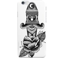 Rose Dagger iPhone Case/Skin