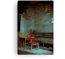 Red Chair Canvas Print