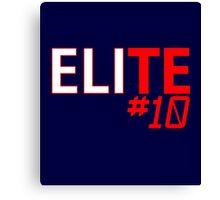 Eli Manning Elite #10 - Giants Canvas Print