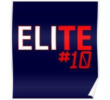 Eli Manning Elite #10 - Giants Poster