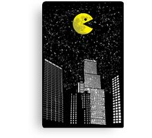 Pac-World Canvas Print