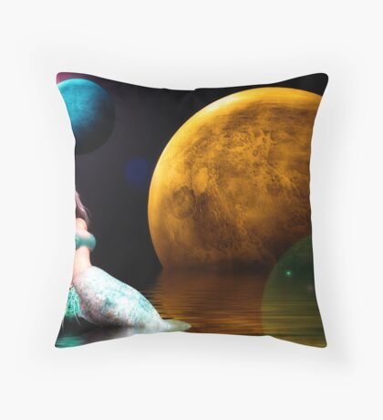 Fantasy World Series Throw Pillow
