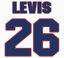 National baseball player Jesse Levis jersey 26 by imsport