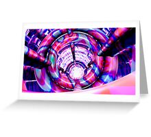 Mirrored Cylinder Greeting Card