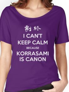 I CAN'T KEEP CALM - KORRASAMI Women's Relaxed Fit T-Shirt