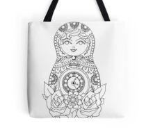 Russian Doll Tote Bag