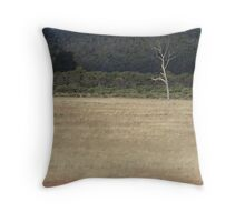 lonely landscape Throw Pillow