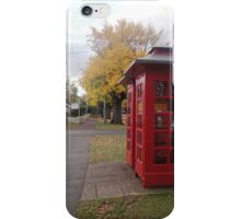 Telephone Boxes at Ross iPhone Case/Skin