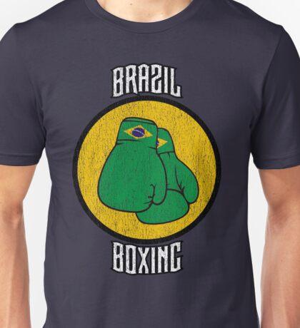 Brazil Boxing Unisex T-Shirt