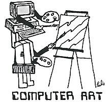 Computer Art Photographic Print