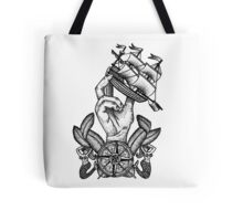 Captain Of The Ship Tote Bag