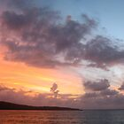 sunrise colored sky by Martin  Hoffmann
