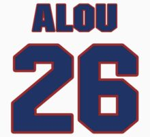 National baseball player Matty Alou jersey 26 by imsport