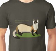 Black-Footed Ferret Unisex T-Shirt