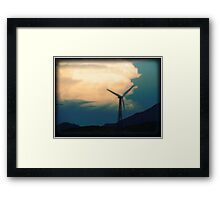 Mill on the Horizon Framed Print