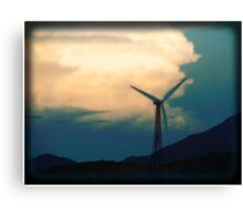 Mill on the Horizon Canvas Print