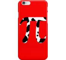 Cow Pi Funny Geek Nerd iPhone Case/Skin